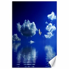 Sky Canvas 24  x 36  (Unframed)