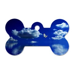 Sky Dog Tag Bone (two Sided)