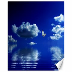 Sky Canvas 11  x 14  (Unframed)