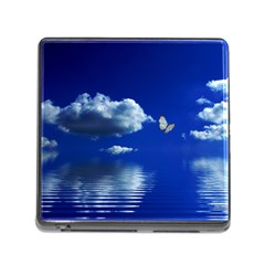 Sky Memory Card Reader with Storage (Square)