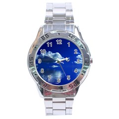 Sky Stainless Steel Watch (men s)