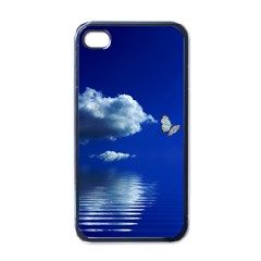 Sky Apple Iphone 4 Case (black)