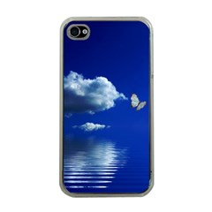 Sky Apple iPhone 4 Case (Clear)