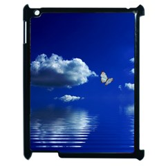 Sky Apple iPad 2 Case (Black)
