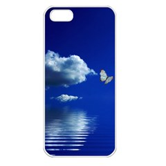 Sky Apple Iphone 5 Seamless Case (white)