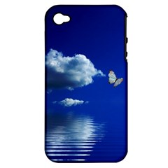 Sky Apple iPhone 4/4S Hardshell Case (PC+Silicone)