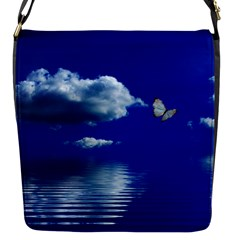 Sky Flap closure messenger bag (Small)