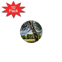 Trees 1  Mini Button Magnet (10 pack)