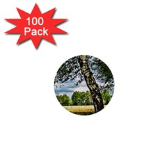 Trees 1  Mini Button (100 pack)