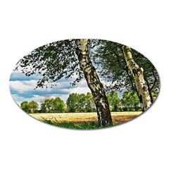 Trees Magnet (Oval)