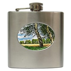 Trees Hip Flask