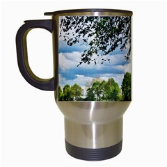 Trees Travel Mug (White)