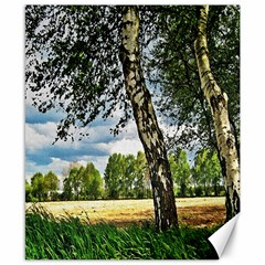 Trees Canvas 8  X 10  (unframed)
