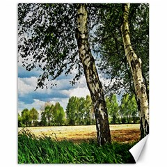 Trees Canvas 16  x 20  (Unframed)
