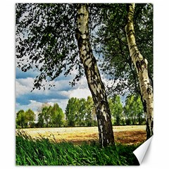 Trees Canvas 20  x 24  (Unframed)