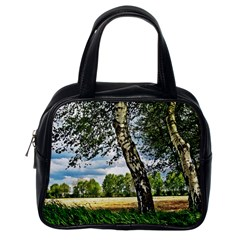 Trees Classic Handbag (One Side)