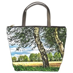 Trees Bucket Bag
