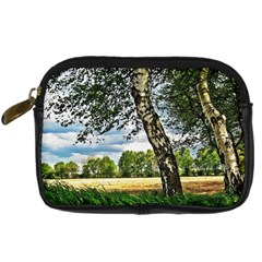Trees Digital Camera Leather Case