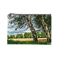 Trees Cosmetic Bag (large)