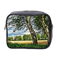 Trees Mini Travel Toiletry Bag (Two Sides)