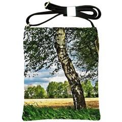 Trees Shoulder Sling Bag