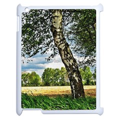 Trees Apple iPad 2 Case (White)
