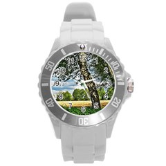 Trees Plastic Sport Watch (Large)