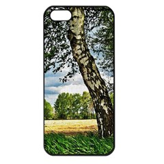 Trees Apple Iphone 5 Seamless Case (black)