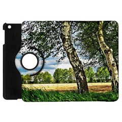 Trees Apple iPad Mini Flip 360 Case