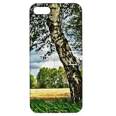 Trees Apple iPhone 5 Hardshell Case with Stand