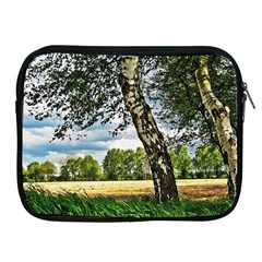 Trees Apple Ipad 2/3/4 Zipper Case