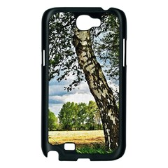 Trees Samsung Galaxy Note 2 Case (Black)