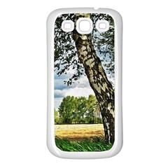 Trees Samsung Galaxy S3 Back Case (white)