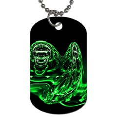 Modern Art Dog Tag (two Sided)
