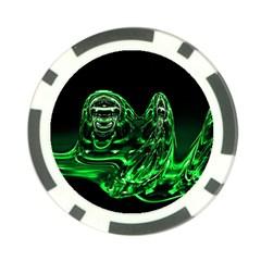 Modern Art Poker Chip 10 Pack