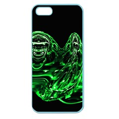 Modern Art Apple Seamless iPhone 5 Case (Color)