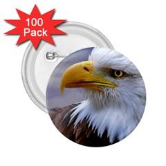 Bald Eagle 2.25  Button (100 pack)