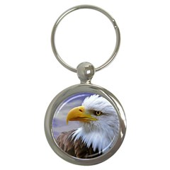 Bald Eagle Key Chain (Round)