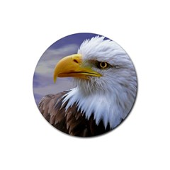 Bald Eagle Drink Coasters 4 Pack (Round)