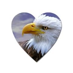 Bald Eagle Magnet (Heart)