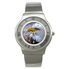 Bald Eagle Stainless Steel Watch (Unisex)