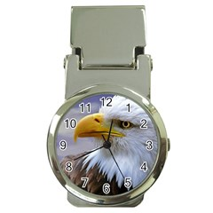 Bald Eagle Money Clip with Watch