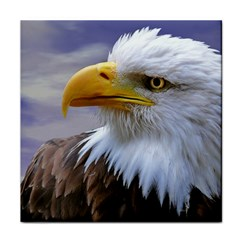 Bald Eagle Face Towel
