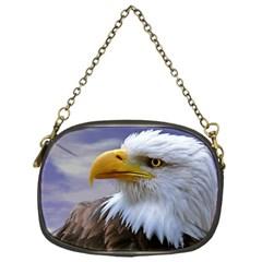 Bald Eagle Chain Purse (One Side)