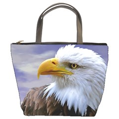 Bald Eagle Bucket Bag