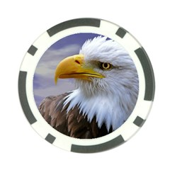 Bald Eagle Poker Chip 10 Pack