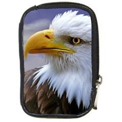 Bald Eagle Compact Camera Leather Case