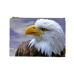 Bald Eagle Cosmetic Bag (Large)