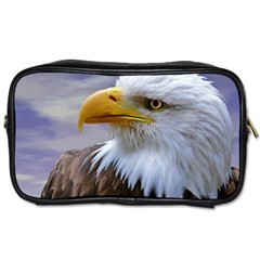 Bald Eagle Travel Toiletry Bag (two Sides)