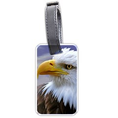 Bald Eagle Luggage Tag (Two Sides)